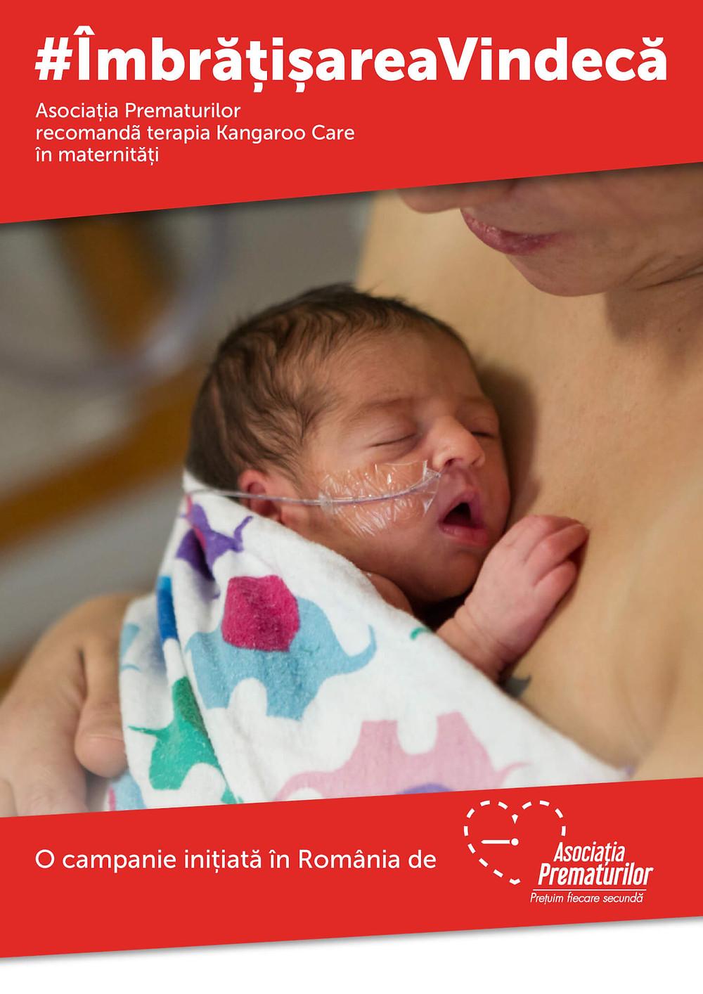 Terapia Kangaroo Care, o nouă șansă pentru bebelușii născuți prematur