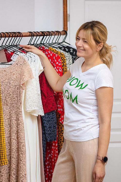 Tricou WoW MoM® Glitter Verde