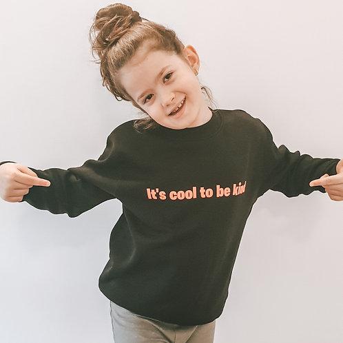 Bluza copii It's cool to be Kind Orange