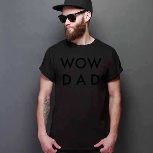Tricou negru WoW DaD