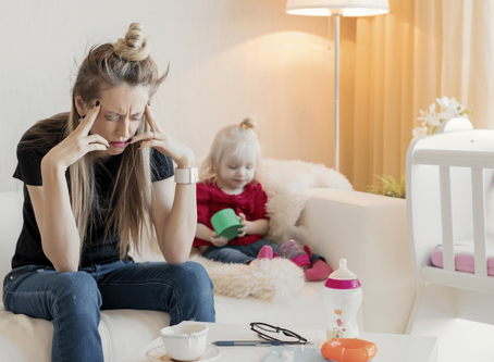 Izolarea pandemica creste numarul depresiilor postnatale