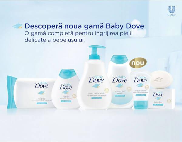 Rămân copiii bebeluşi în ochii noştri? Campanie Dove Baby