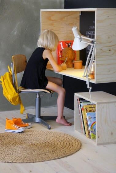 6 trucuri și idei de birouri pentru copii care sa-i inspire...la teme