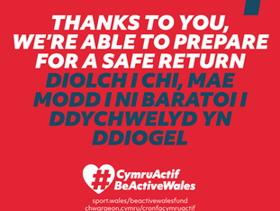 PSC awarded 'Be Active Wales' funding