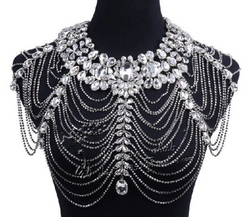 Bling shoulder wrap