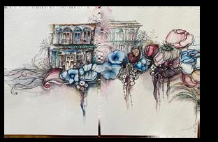 Singapore Watercolor