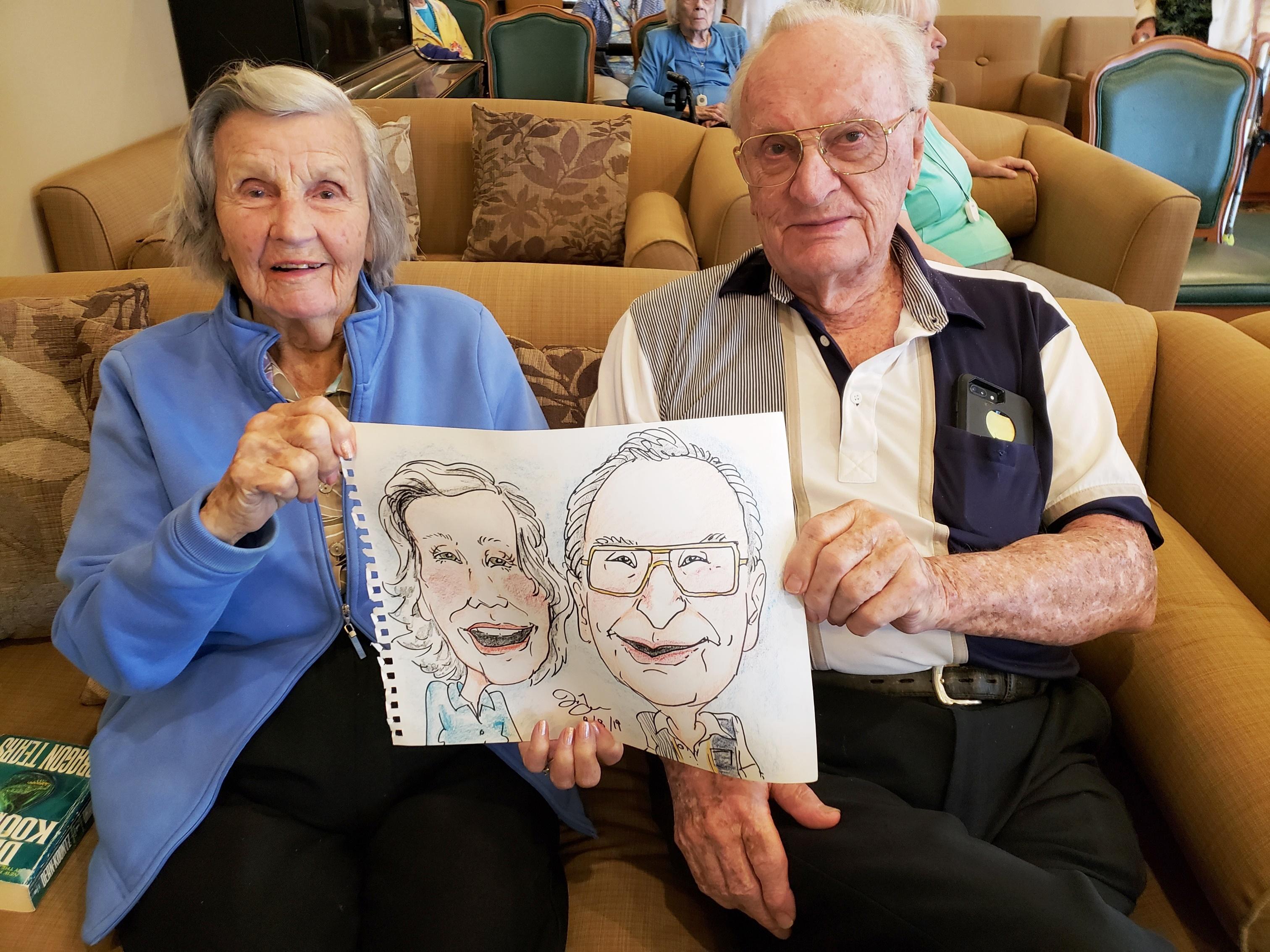 Caricature portraits!