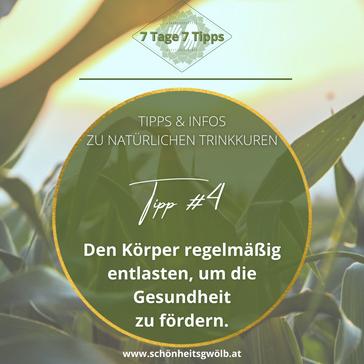 7 Tage – 7 Tipps! Tipp #4