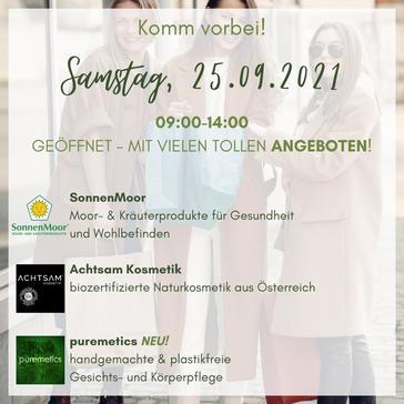 🥳 GEÖFFNET - Samstag, 25.09. 09:00-14:00 ! 🥳