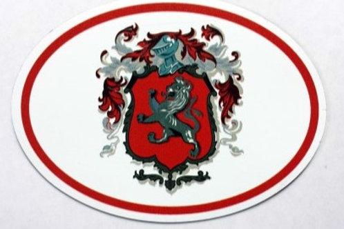 Brinton Family Crest Magnet