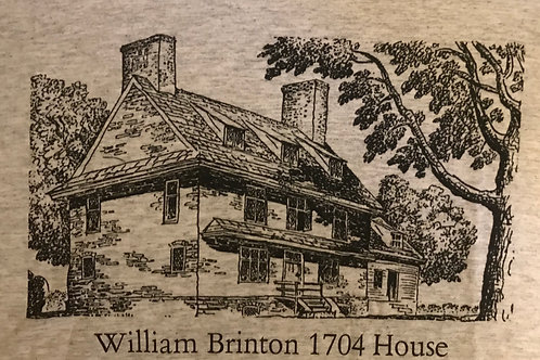 William Brinton 1704 House T-Shirt (Grey)
