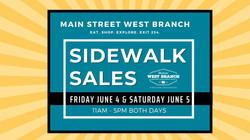 Summer Sidewalk Sales