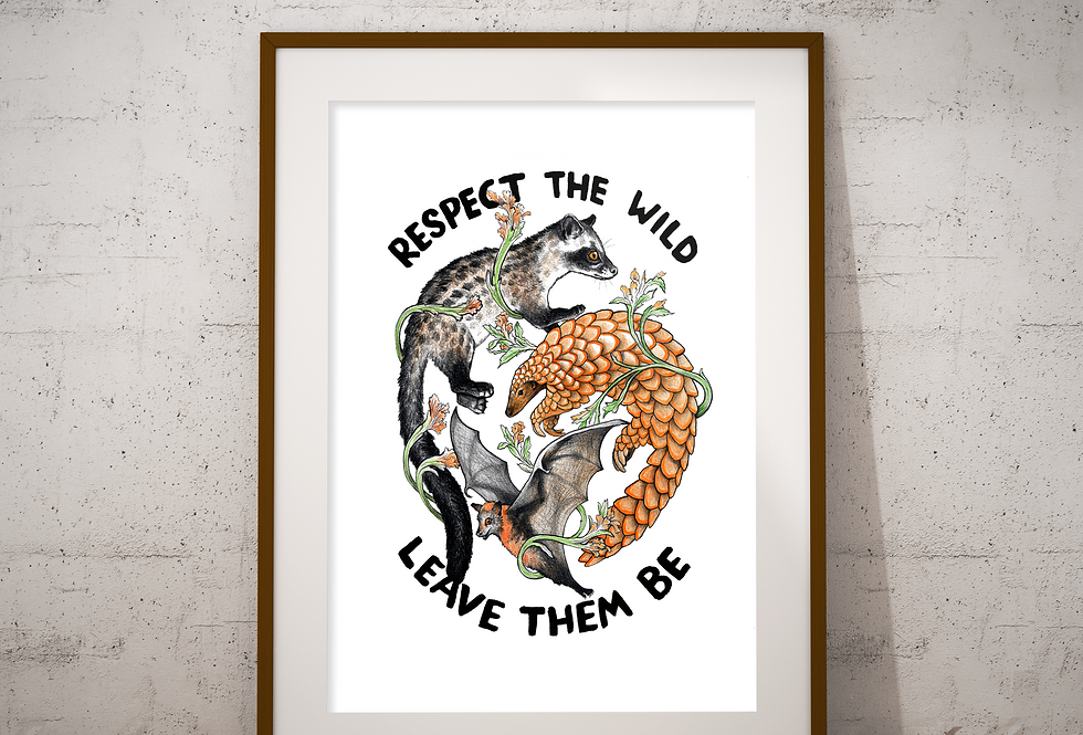 Respect the Wild A3 Print