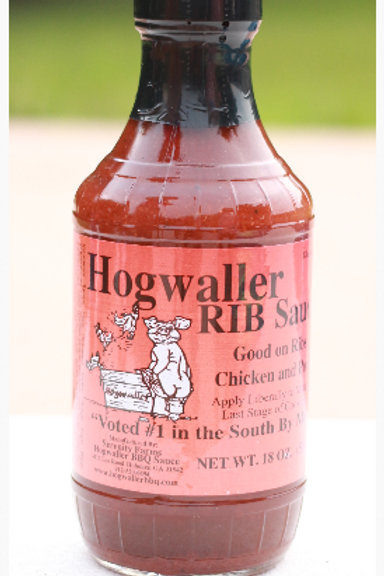 6 Bottles of Rib Sauce (Includes Shipping)
