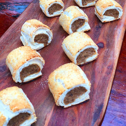 Mini Sausage Rolls (1 Dozen)