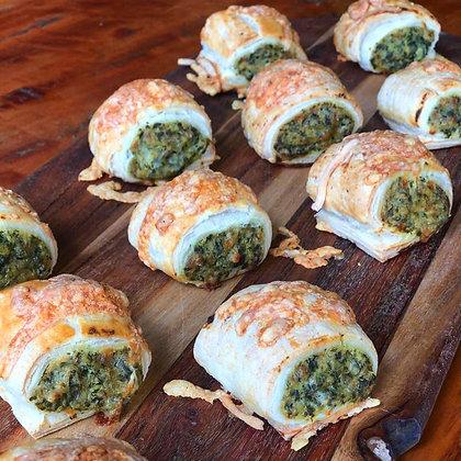 Mini Spinach Rolls (1 Dozen)