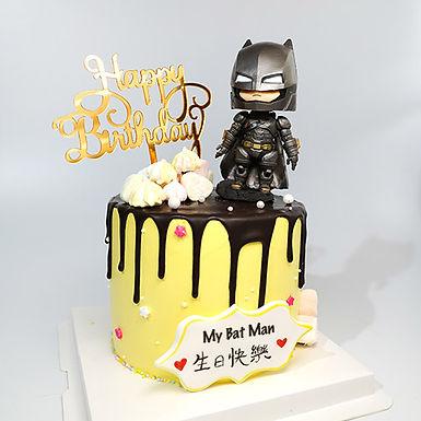 Batman.真.玩具 蛋糕