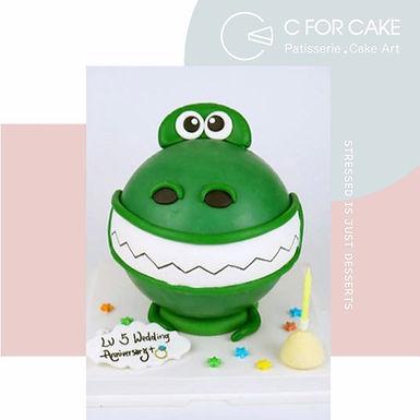 Toy story Rex龍扑爆蛋糕