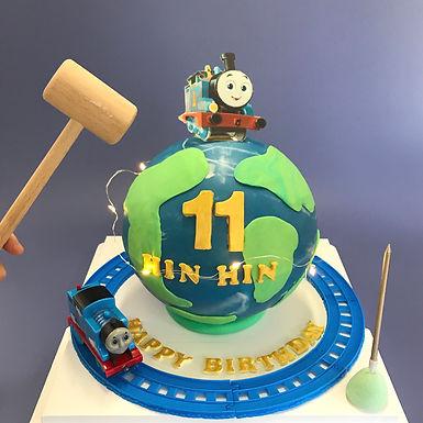 Thomas主題小火車玩具 扑爆蛋糕