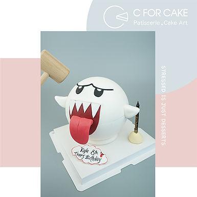 Mario幽靈扑爆蛋糕