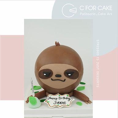 Sloth 樹懶 扑爆蛋糕