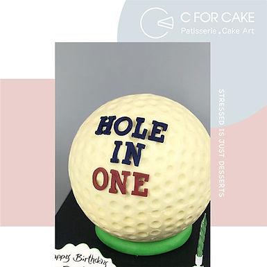 Golf哥爾夫球 扑爆蛋糕