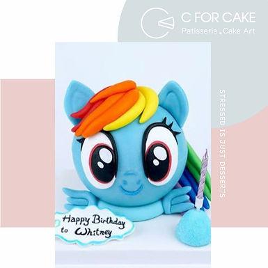 My litte pony 小馬扑爆蛋糕
