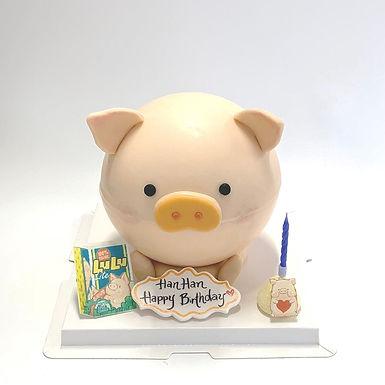 Lulu 豬 扑爆蛋糕
