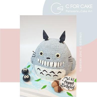 龍貓 吱花蛋糕