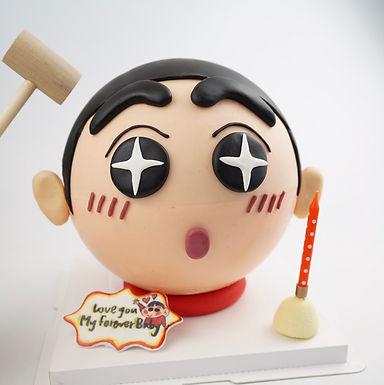 蠟筆小新 扑爆蛋糕