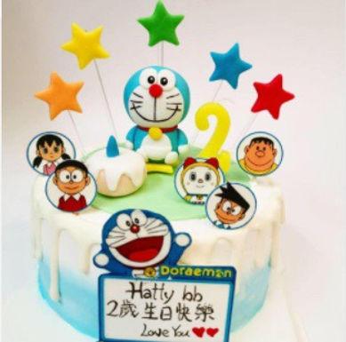 Doraemon 叮噹 Cream Cake