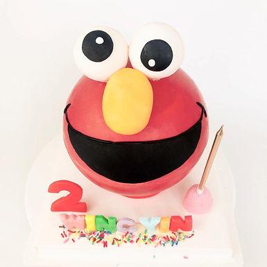 Elmo扑爆蛋糕