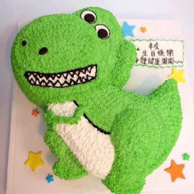 Toy story Rex 龍吱花蛋糕