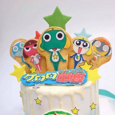 Keroro曲奇 Cream Cake