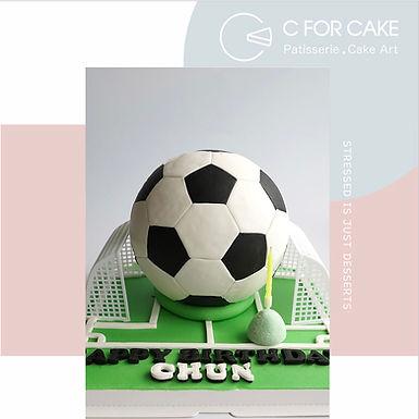 足球主場 扑爆蛋糕