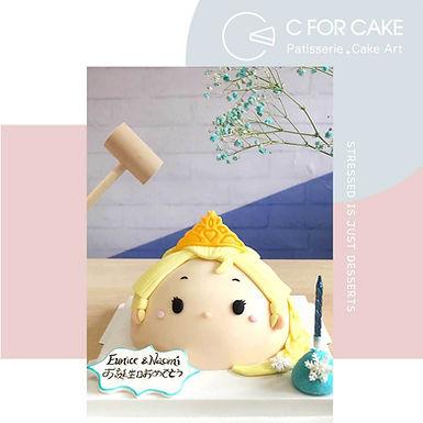 Elsa愛莎 扑爆蛋糕 半球