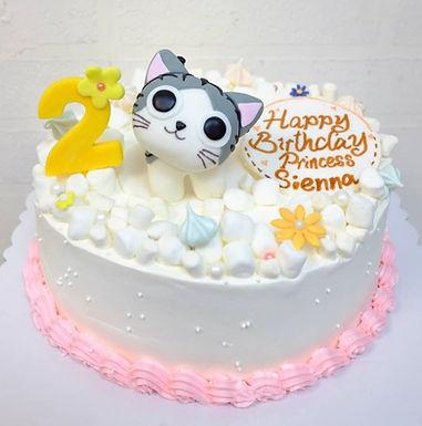 貓咪棉花糖 Cream Cake