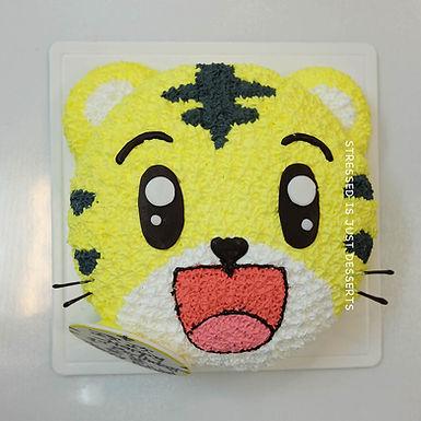 小巧虎 吱花蛋糕