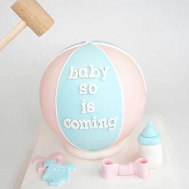 寶貝熱氣球 扑爆蛋糕
