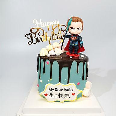 Superman.真.玩具 蛋糕