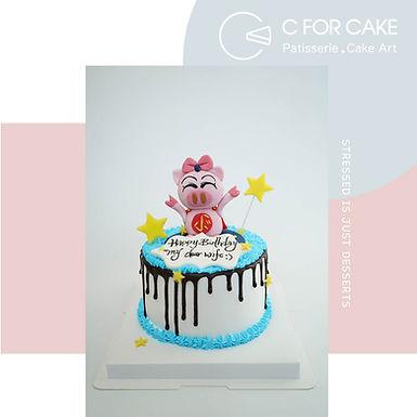 飛天少女豬事丁 Cream Cake