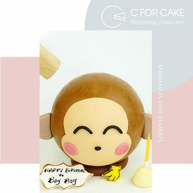 Monkey馬騮仔扑爆蛋糕