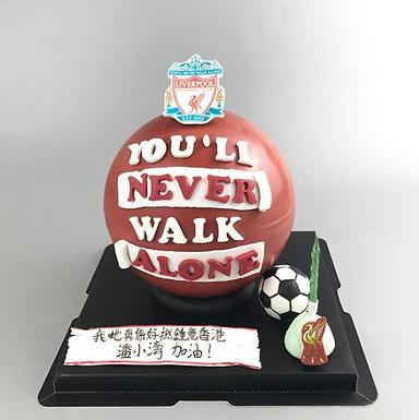利物浦迷 紅球限量版 扑爆蛋糕