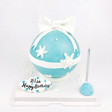 冰雪扑爆蛋糕
