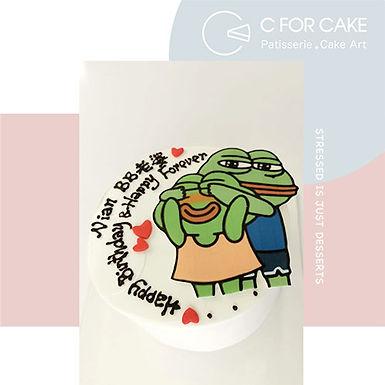 情侶PEPE Cream Cake