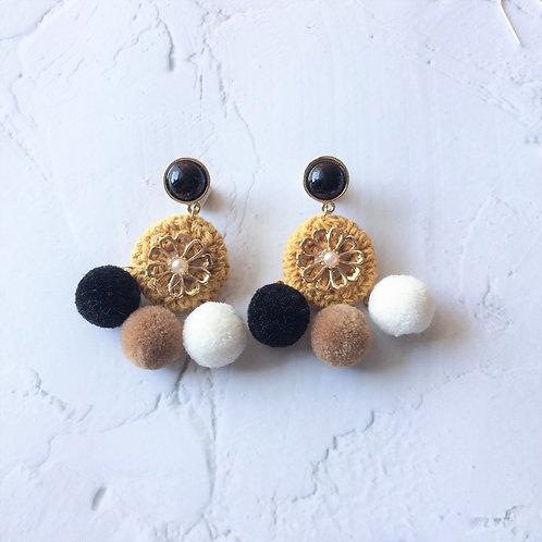 Lolita Dreamcatcher Poms (Mustard)