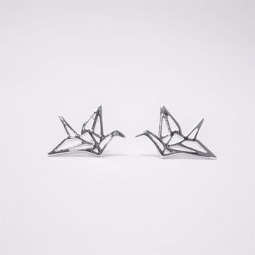 Amelia Origami Crane Studs