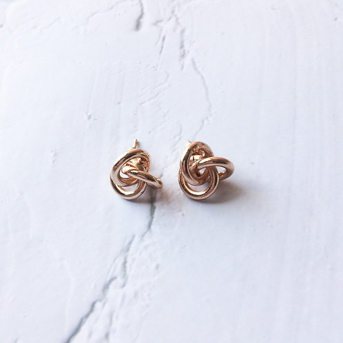 Vica Knot Studs