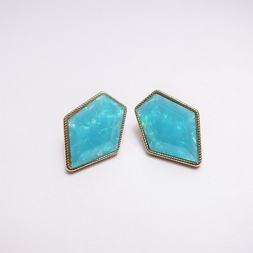 Ella Turquoise Stone Studs