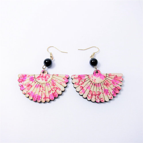 Hana Pink Oriental Fan
